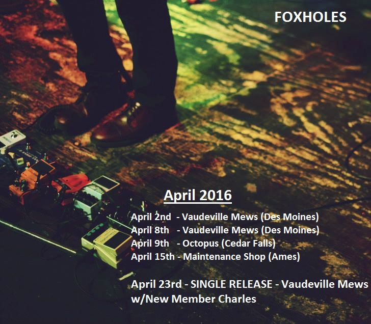 April Shows